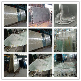 Fiberglass Vacuum Bagging , Vacuum Packing Film For Bent Laminated Glass