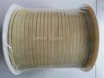 Furnace Aramid Fiber Rope For Glass Tempering Furnace 9 X 3mm North Glass Furnace