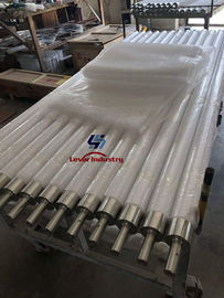Ceramic Furnace Rollers High Purity Silica / SiO2 Material
