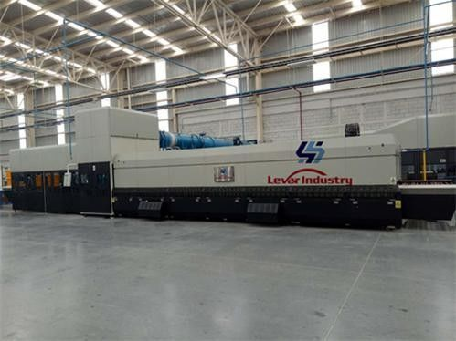 Continuous Bending Glass Tempering Furnace for Automotive side window glass