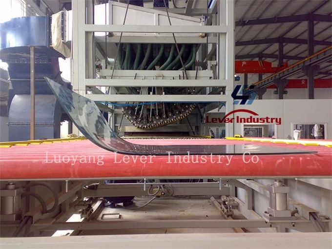 Shaped Bending Glass Tempering Furnace for freezer glass Refrigerator glass