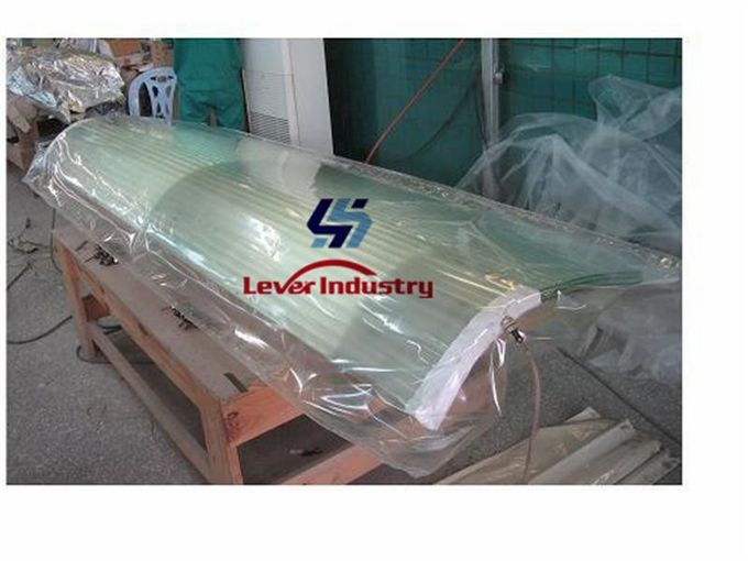 Vacuum polyester release film with high temperature for laminated glass