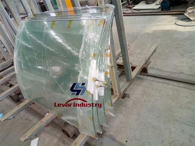 Laminated glass Vacuuming film Bent glass big size