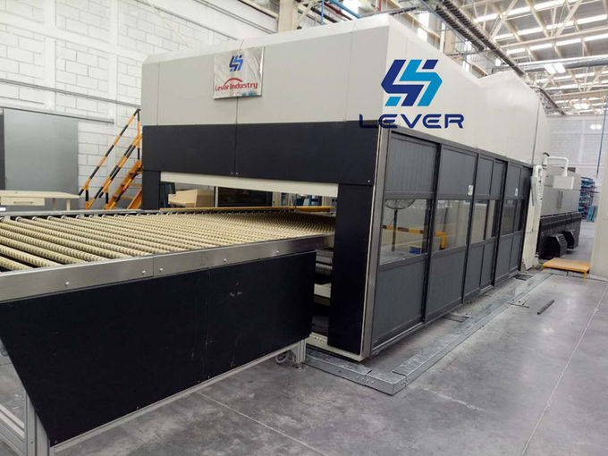 Lever Factory Directly Sell Double Bending Glass Tempering Furnace / Glass Tempering machine for Automotive rear glass
